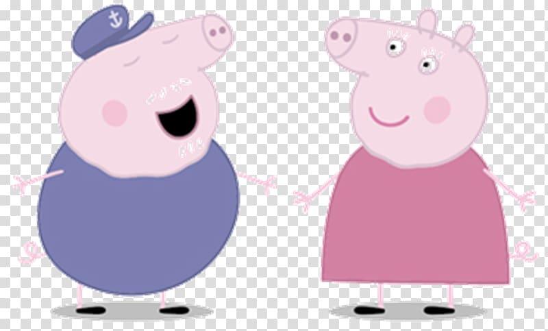 Peppa Pig , Daddy Pig Mummy Pig Granny Pig Grandpa Pig.