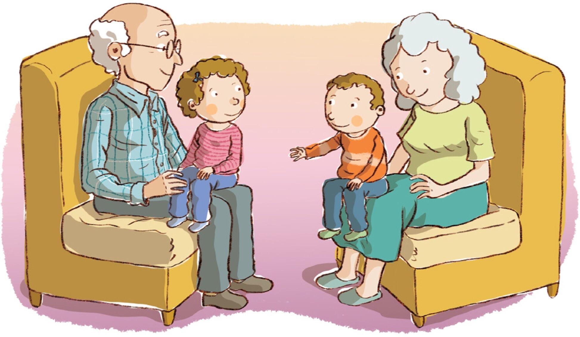 Clip Art for Grandparents.