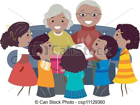 Grandparents Clipart and Stock Illustrations. 3,975 Grandparents.