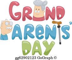 Grandparents Day Clip Art.