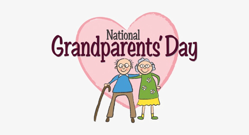 Grandparents Day Free Png Image.
