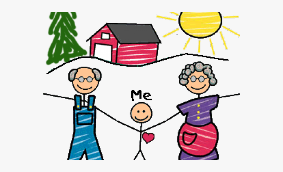 Grandparents Day Clipart , Transparent Cartoon, Free.