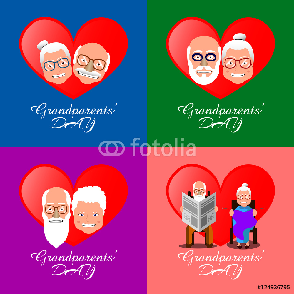 Grandparents Day Wall Sticker.