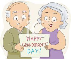107 Best Grandparents Day Clipart images.