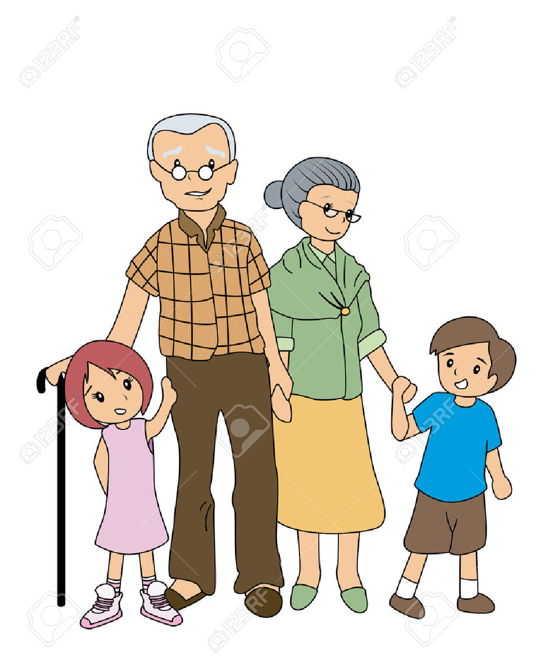 Indian grandparents clipart 2 » Clipart Station.