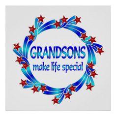 god made grandsons poem.