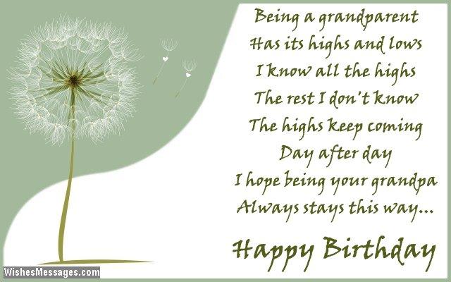 Birthday poems for grandson.