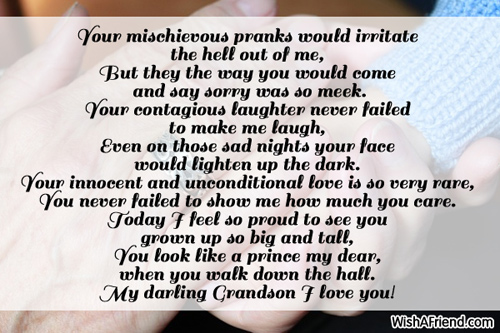 Poems For Grandson.