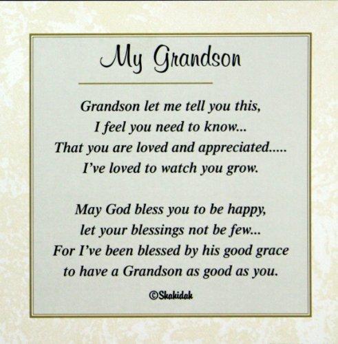happy birthday grandson poems.