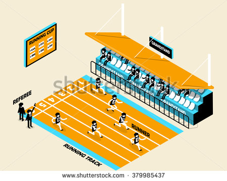 Grandstand People Stock Vectors & Vector Clip Art.