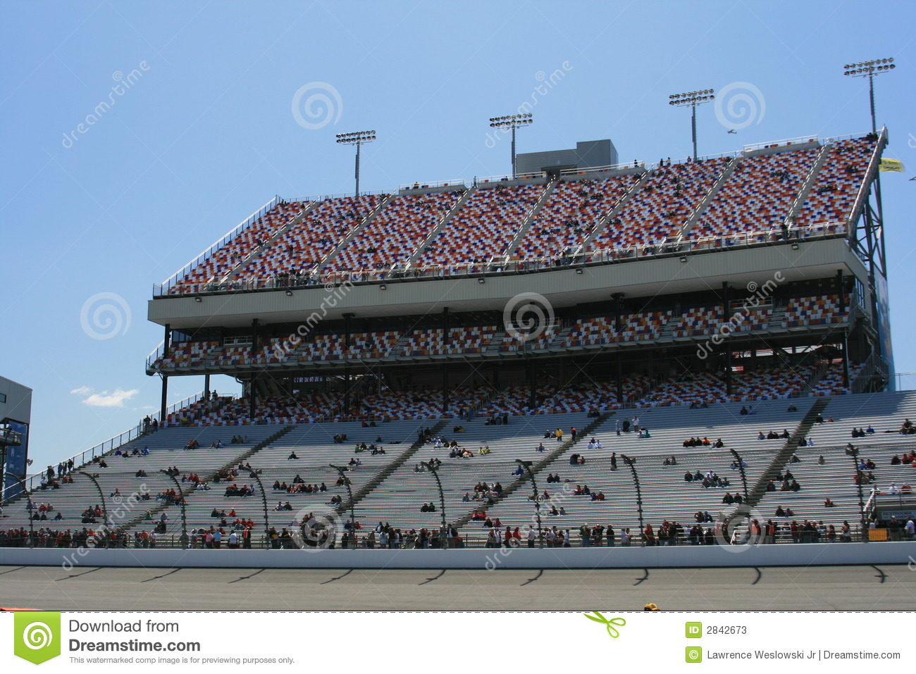 Grandstand Royalty Free Stock Photo.