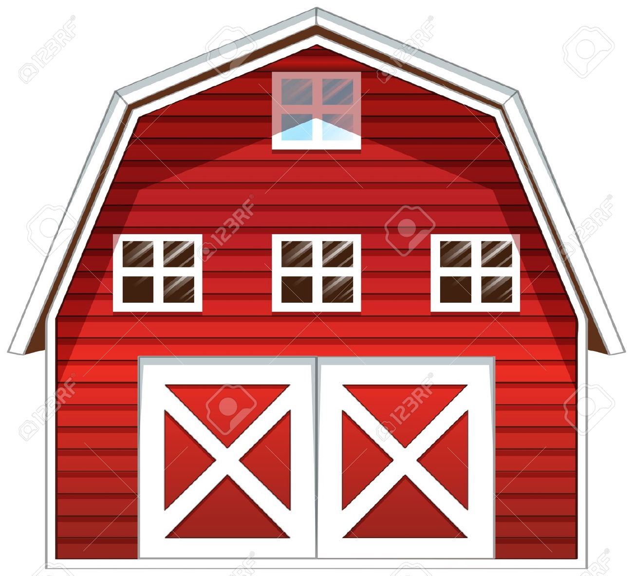 1,073 Red Barn Stock Illustrations, Cliparts And Royalty Free Red.