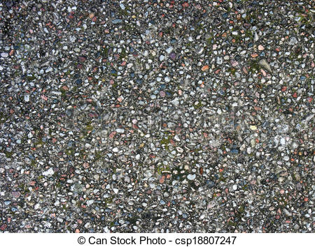 Drawing of colored granite surface as texture.