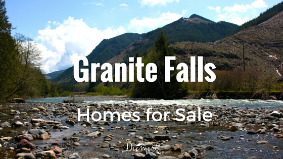 Living in Granite Falls, WA 98252.