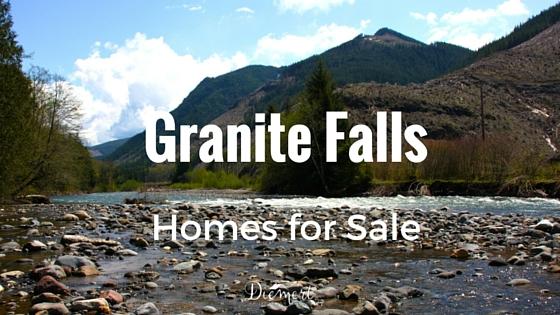 Living in Granite Falls, WA 98252.