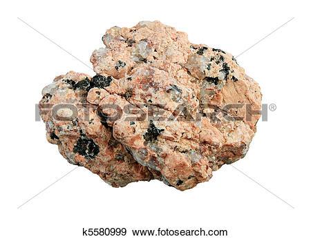 Stock Photograph of granite rock macro k5580999.