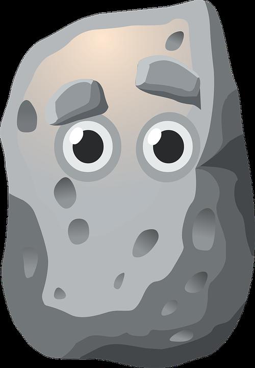 Free vector graphic: Rock, Eyes, Grey, Gray, Granite.