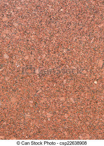 Stock Photography of red granite slab.