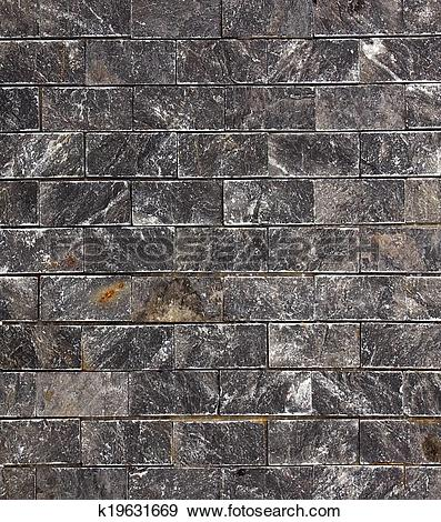 Stock Photograph of background gray stone granite slab k19631669.