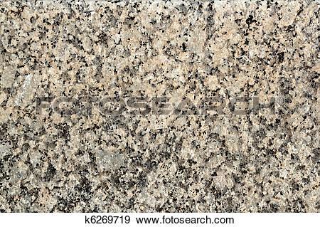 Stock Photograph of granite stone texture gray black white.
