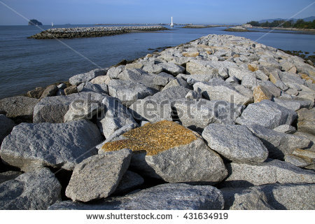 Dam Stone Stock Photos, Royalty.