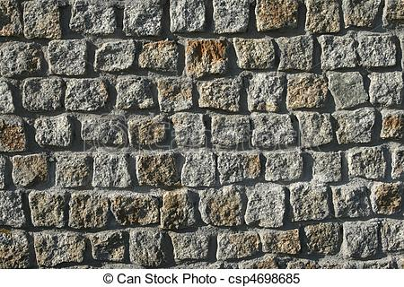 Stock Images of Granite wall background texture. Architecture.