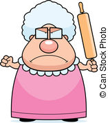 Grandma Clipart and Stock Illustrations. 2,492 Grandma vector EPS.