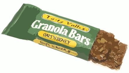 Granola Bar Clipart.