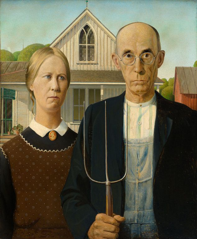 1000+ ideas about Grant Wood American Gothic on Pinterest.