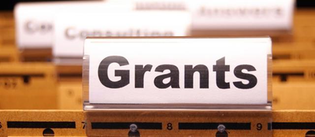 Clip Art of Business Grants.