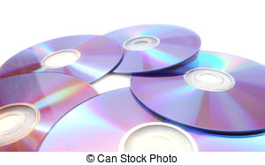 Picture of Three DVDs.