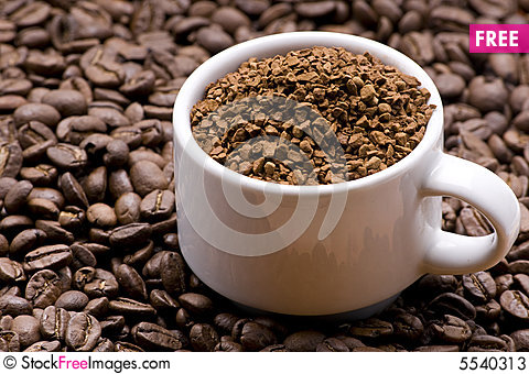 Coffee Granules Clipart.