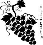 Grapes Clip Art.
