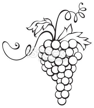 clipart grape cluster.