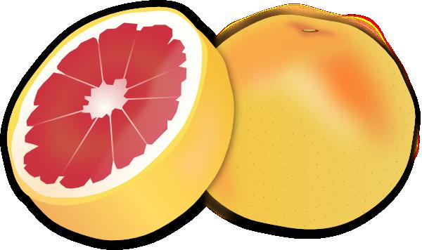 Grapefruit Clip Art at Clker.com.