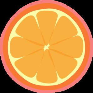 Pink grapefruit clipart.