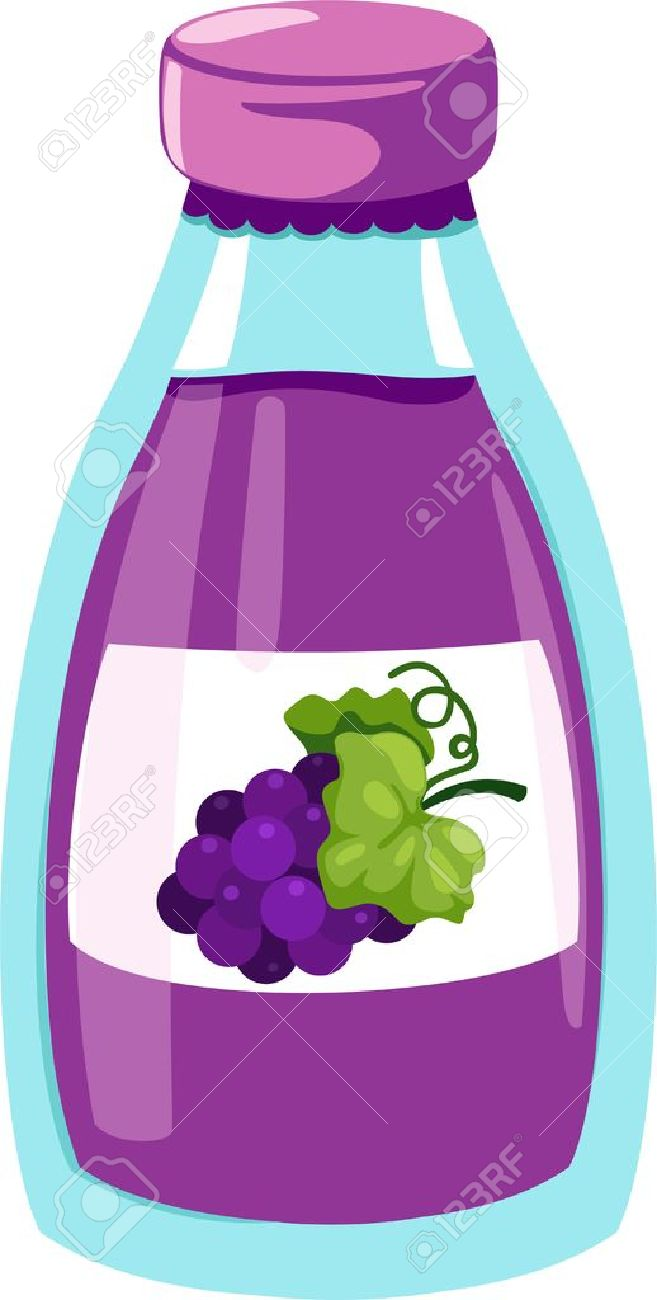 Grape juice clipart - Clipground