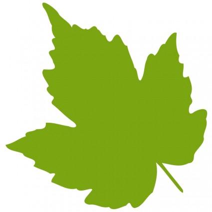 Free Printable Grape Leaves.