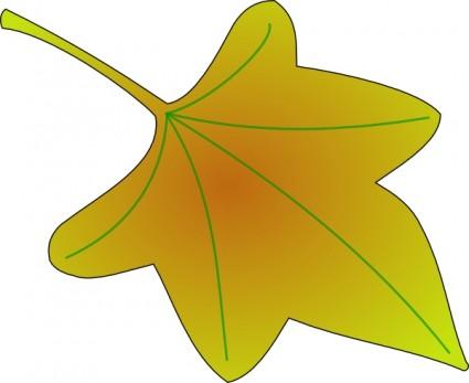 Grape Leaf clip art.