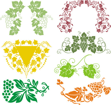 Grape vine border free vector download (6,511 Free vector.