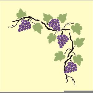 Free Grape Vine Clipart.