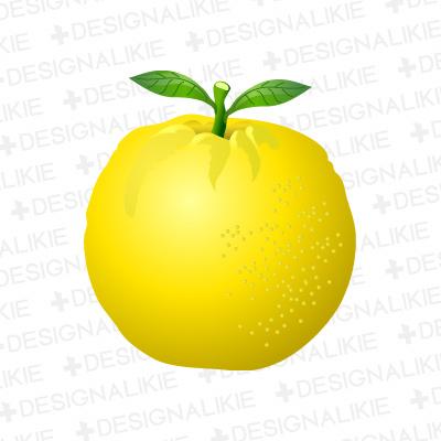 Yellow Grapefruit Clipart.