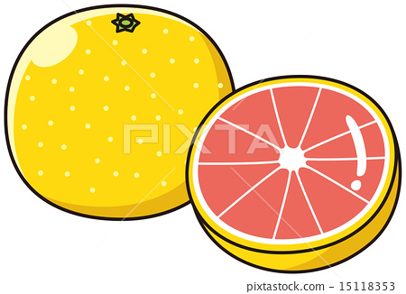 grapefruit, sectional, cross.