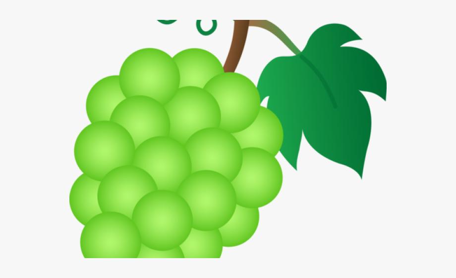 Grapes Clipart Fruit Individual.