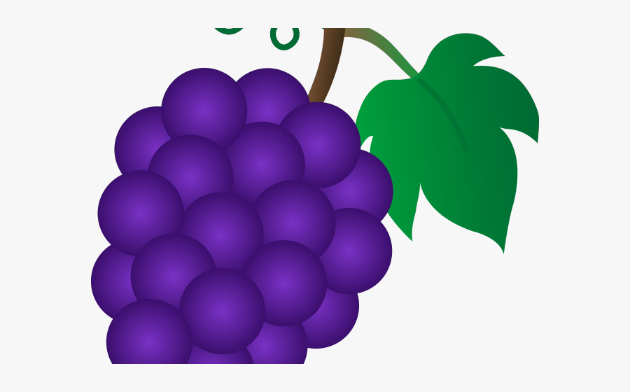 Grape Clipart Pacman Fruit.