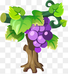 Grape Tree Clipart.