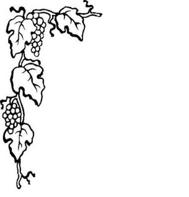 Grapevine border clipart 5 » Clipart Portal.