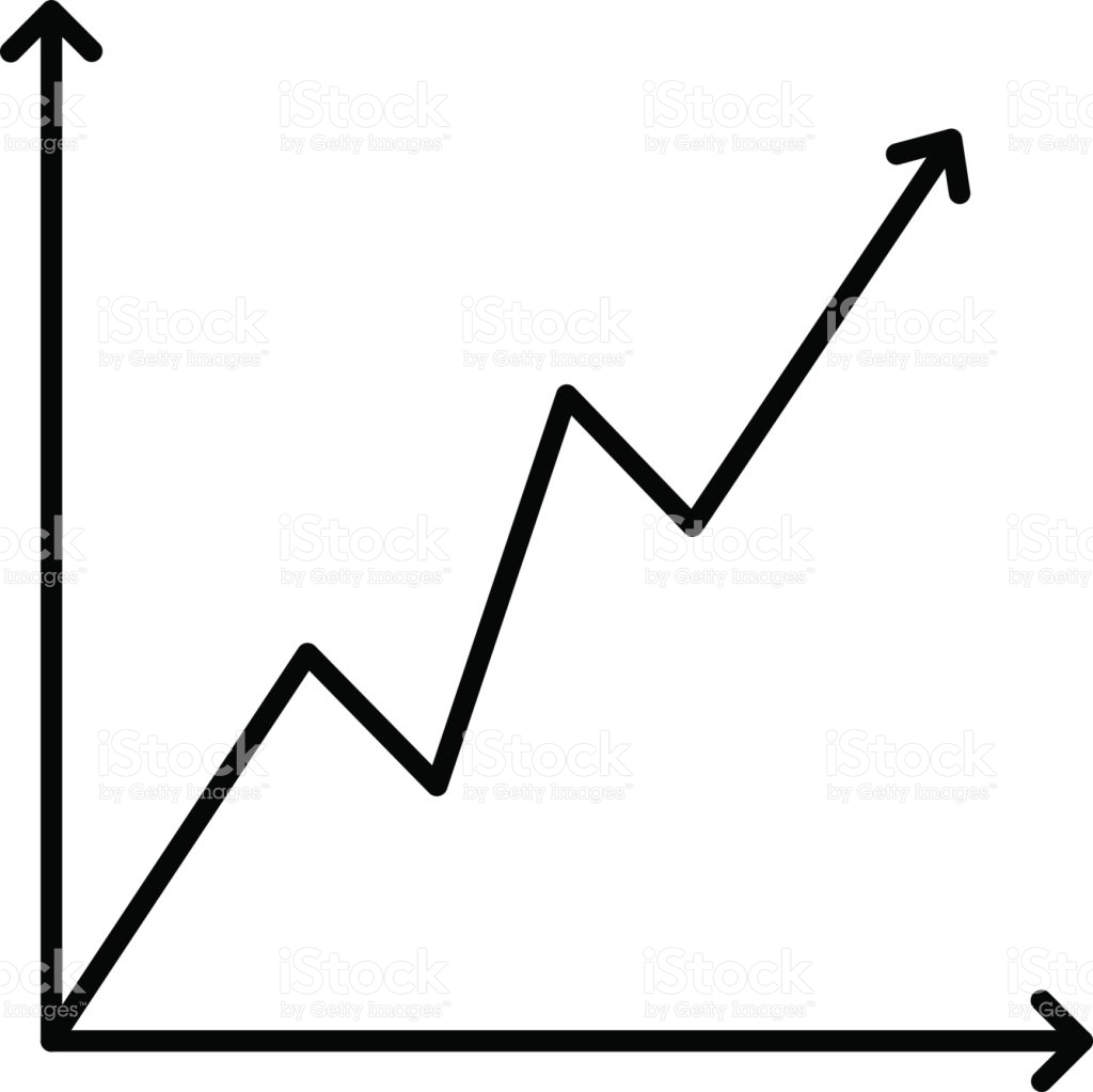 Graph Clipart Black And White.