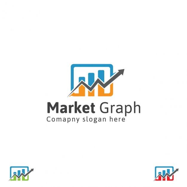 Corporate graph logo Vector.