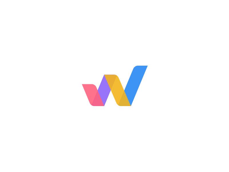 W + Graph Logo Design by Al.